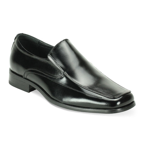 Giorgio Venturi Slip-On Men's Black Dress Shoes