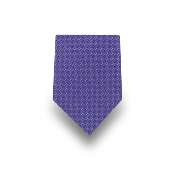 Men's Dark Blue Patterned Tie