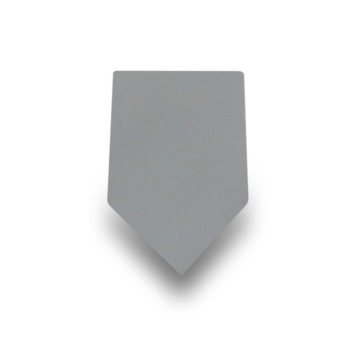 Men's Grey 100% Silk Tie