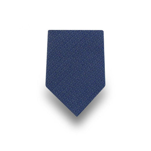 Men's Navy Blue Microfiber Tie