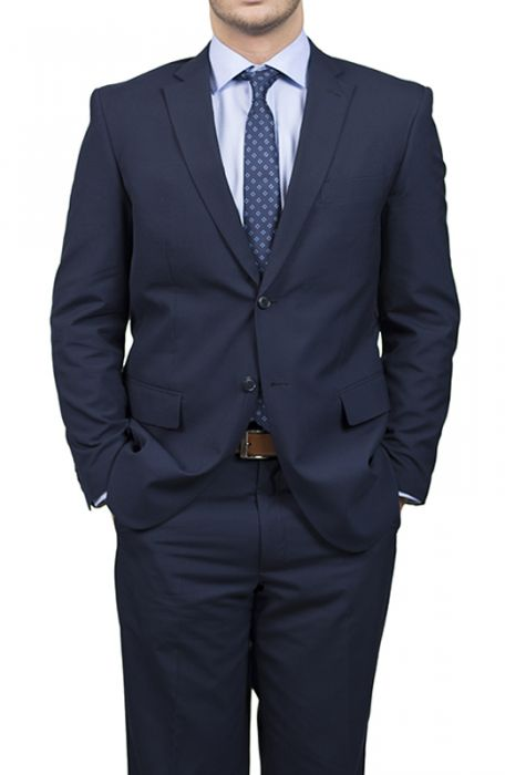 Karako Men Navy Slim Fit Suit