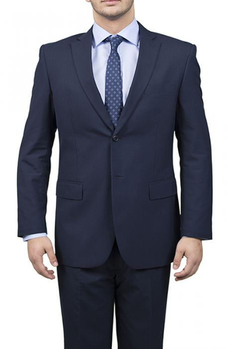 Karako Men Navy Modern Fit Suit