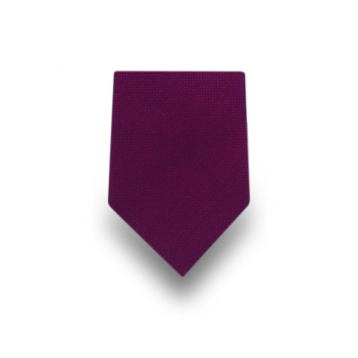 Men's Light Purple Microfiber Tie