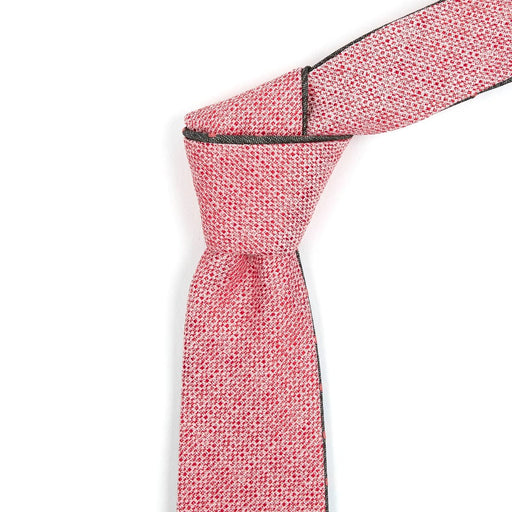 Chambray & Pink Dotted Reversible Tie