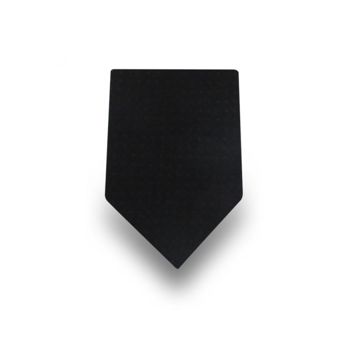 Men's Black Micro Dotted 100% Silk Tie