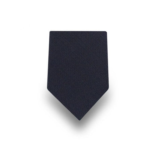 Men's Grey Micro Dotted Microfiber Tie