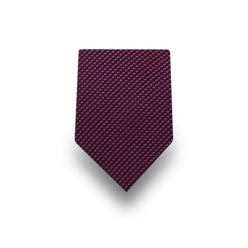 Men's Velvet Patterned Microfiber Tie