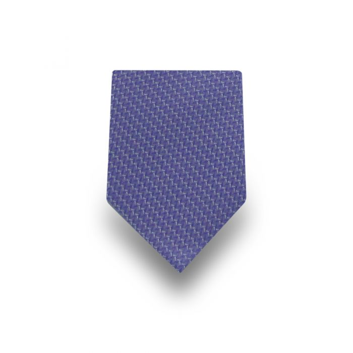Men's Light Blue Patterned Microfiber Tie