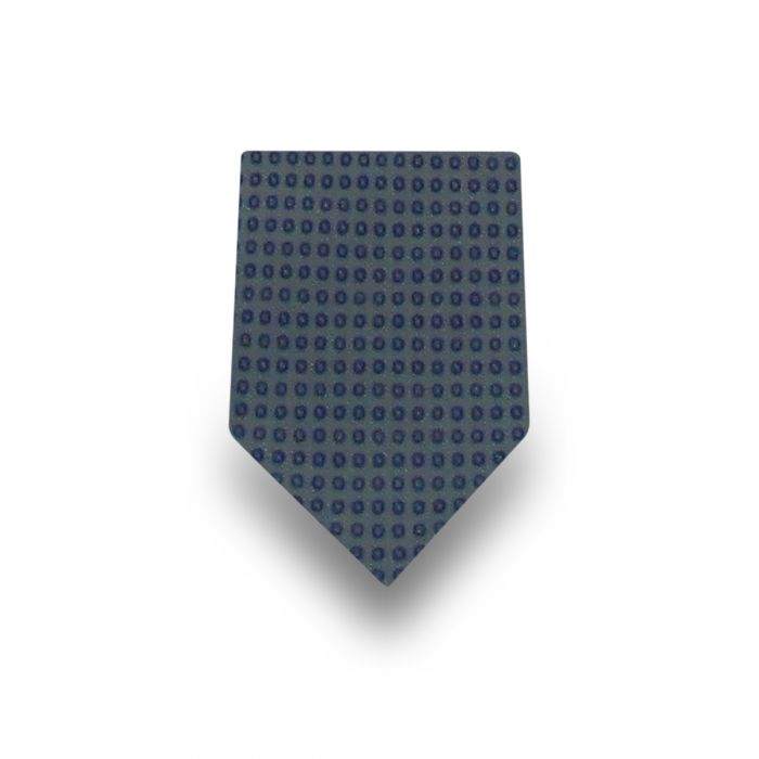 Men's Green with Blue Dots Microfiber Ties