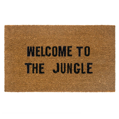 Welcome To The Jungle Door Mat