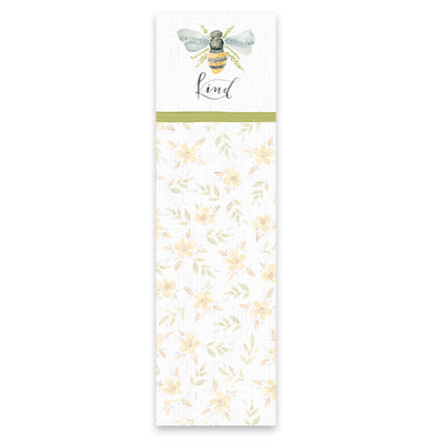 Bee Kind Floral Notepad