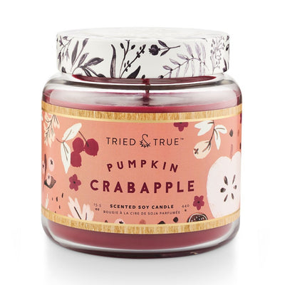 Tried & True Pumpkin Crabapple Large Jar Candle