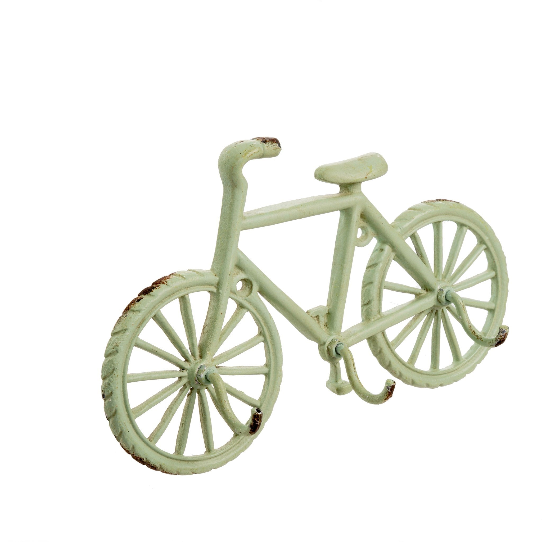 Mint Green Bicycle Hook-Decor-A Cottage in the City