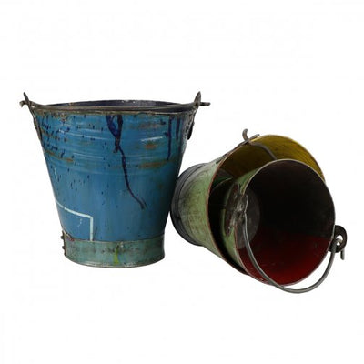 Reclaimed Metal Bucket