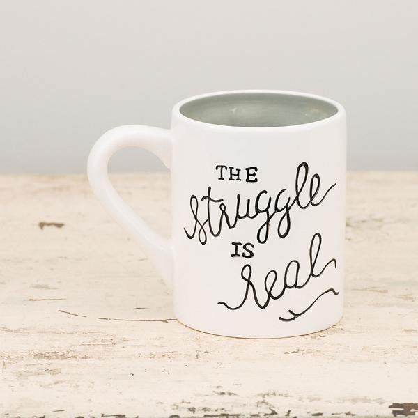The Struggle Is Real Mug-Tabletop-A Cottage in the City