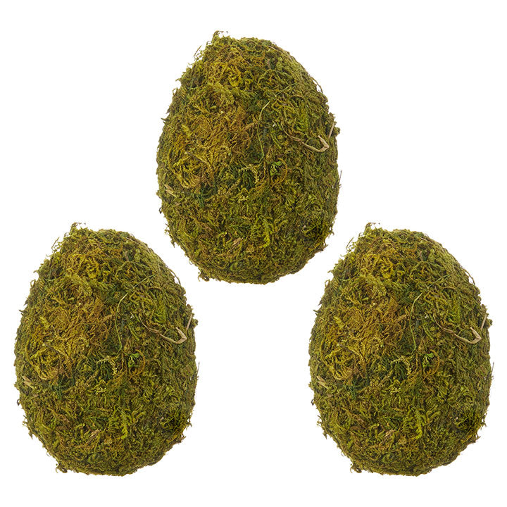 Moss Eggs S/3-Decor-A Cottage in the City