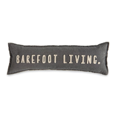 Canvas Barefoot Living Lumbar Pillow