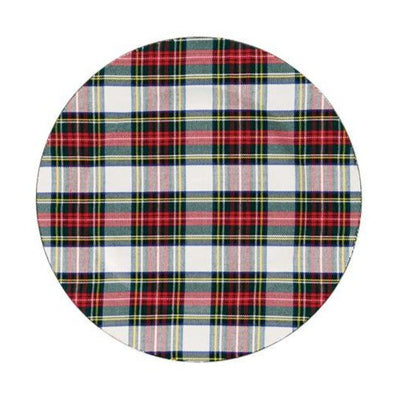 Holiday Tartan Charger-Tabletop-A Cottage in the City