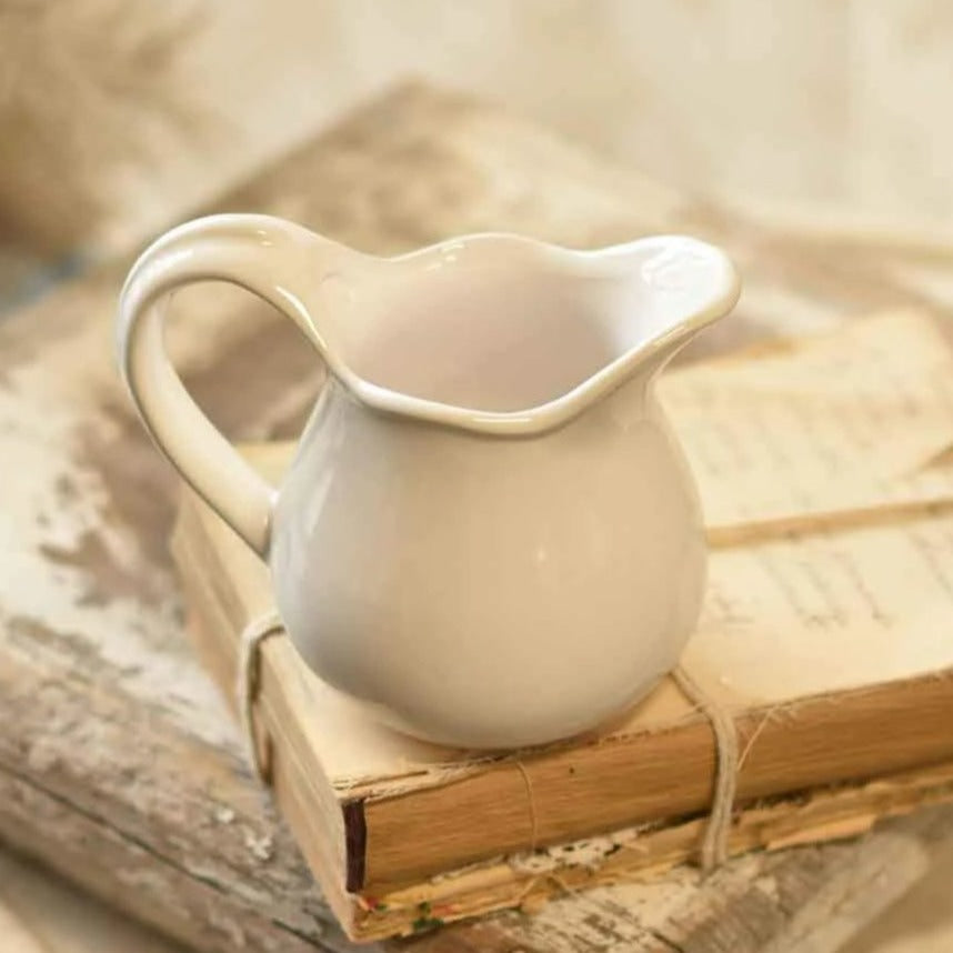 Miniature Whitestone Pitcher-Decor-A Cottage in the City
