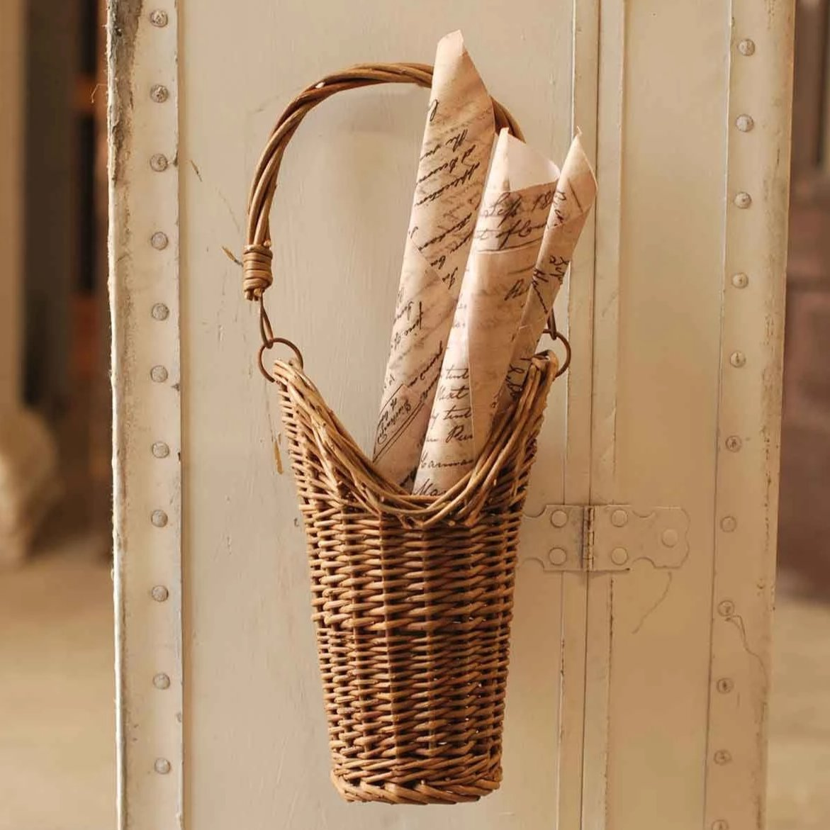 Hanging Wall Basket-Decor-A Cottage in the City