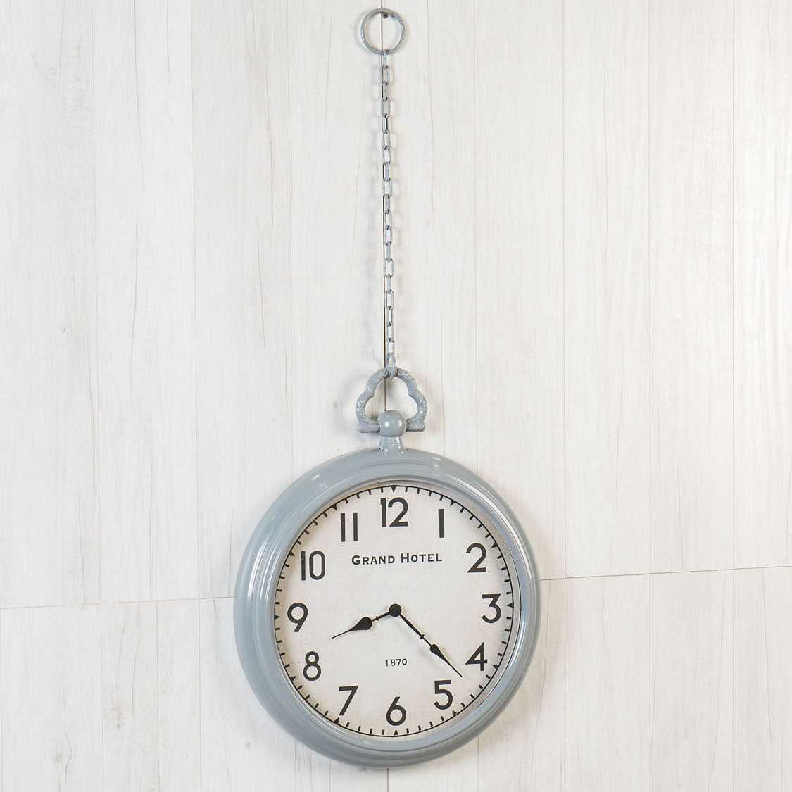 Pocket Watch Grey Wall Clock-Decor-A Cottage in the City