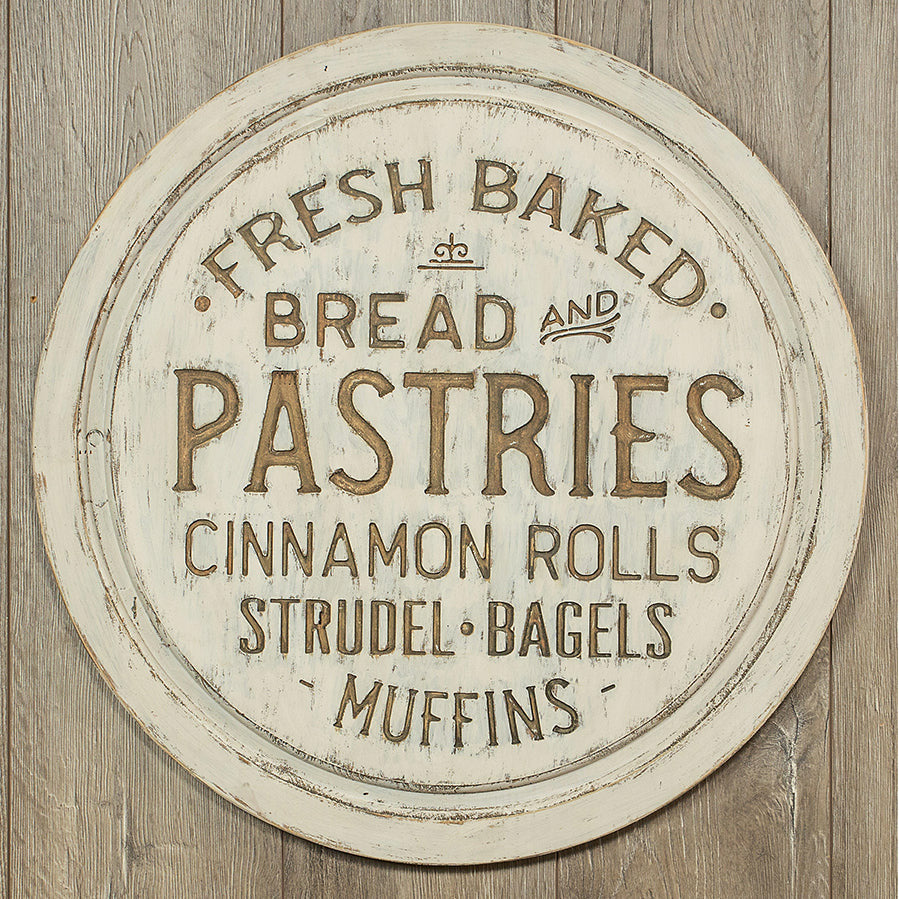 Distressed Wood Pastries Sign-Decor-A Cottage in the City