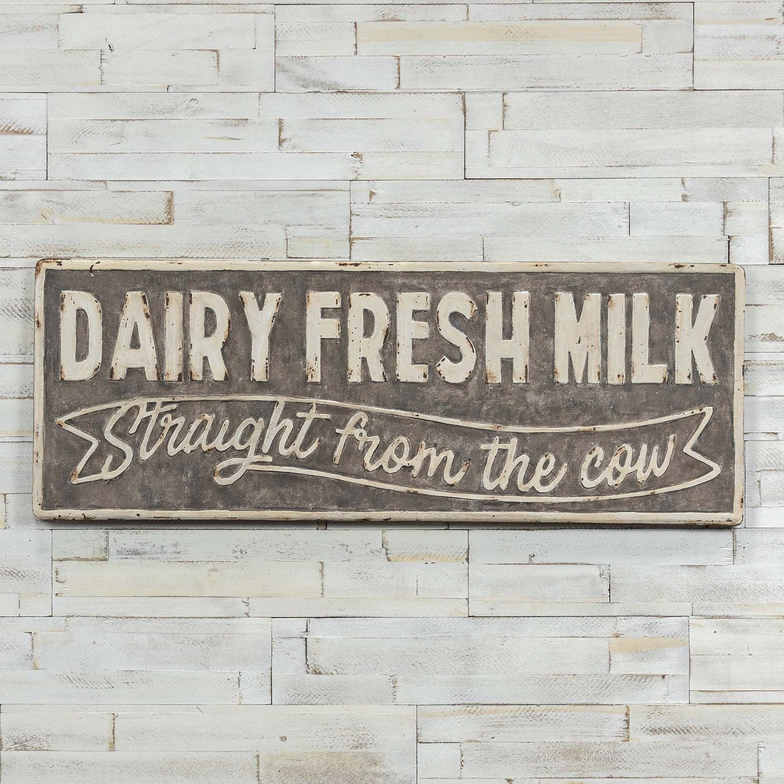 Dairy Fresh Milk Straight From The Cow Sign-Decor-A Cottage in the City