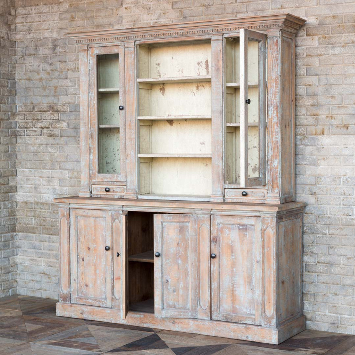 Old Southern Home China Cabinet-Furniture-Park Hill Collection-A Cottage in the City