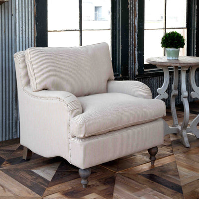 Henry English Rolled Arm Chair