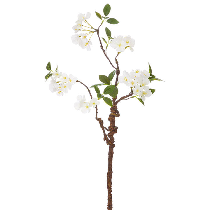 White Cherry Blossom Branch-SIMPLE-A Cottage in the City