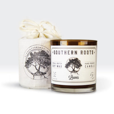 Southern Roots Leaves Candle