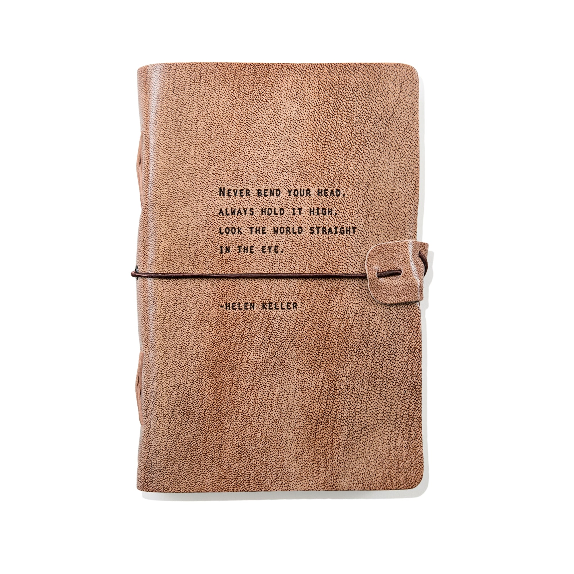 Sugarboo Designs Leather Journal Helen Keller-Brands-A Cottage in the City