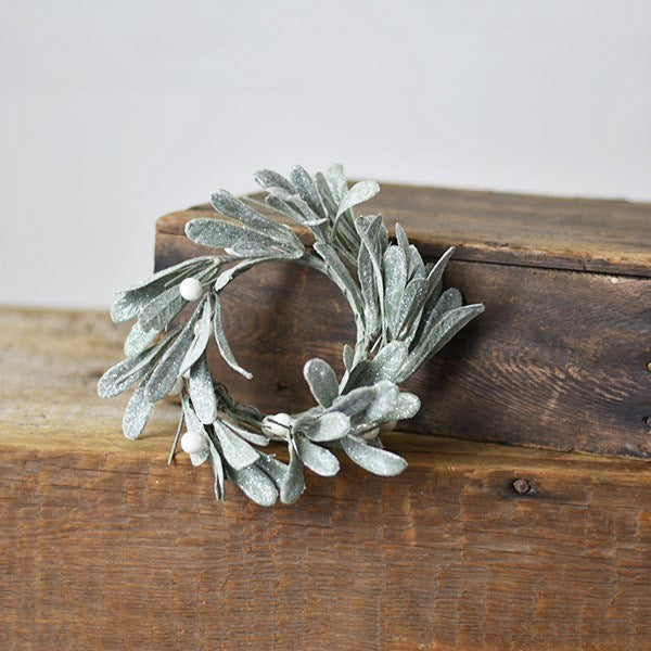 Mistletoe Candle Ring-Seasonal-PD Home-A Cottage in the City