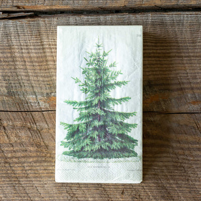 Fir Tree Paper Napkins S/20