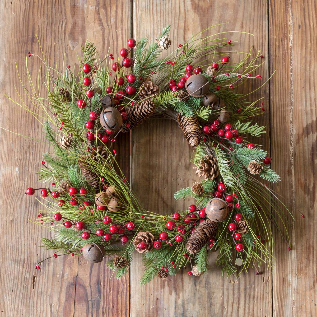 Jingle Berry Wreath-Seasonal-A Cottage in the City