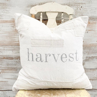 Harvest Patched Pillow