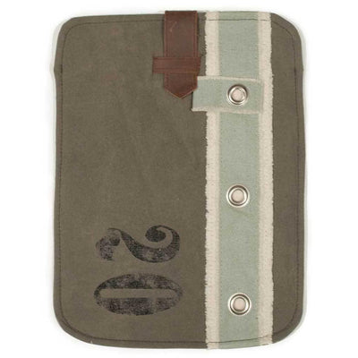 Aged Canvas iPad Cover