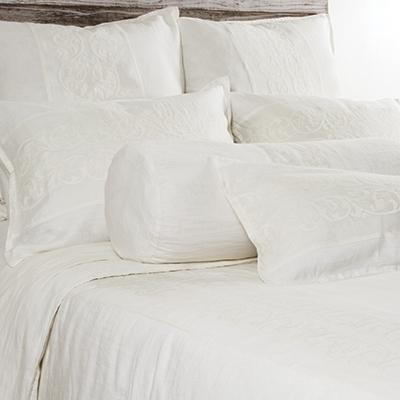 Allegra Duvet by Pom Pom at Home-Bed & Bath-Pom Pom-Queen-Cream-A Cottage in the City