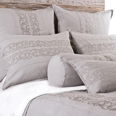 Allegra Duvet by Pom Pom at Home-Bed & Bath-Pom Pom-Queen-Flax-A Cottage in the City