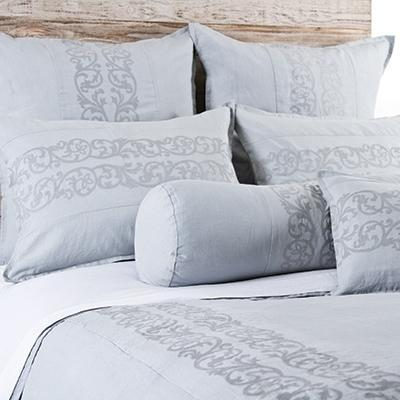 Allegra Duvet by Pom Pom at Home-Bed & Bath-Pom Pom-Queen-Ocean-A Cottage in the City