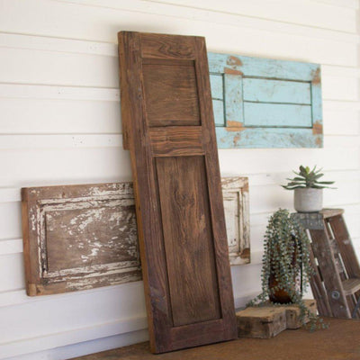Antique Wood Wall Panel