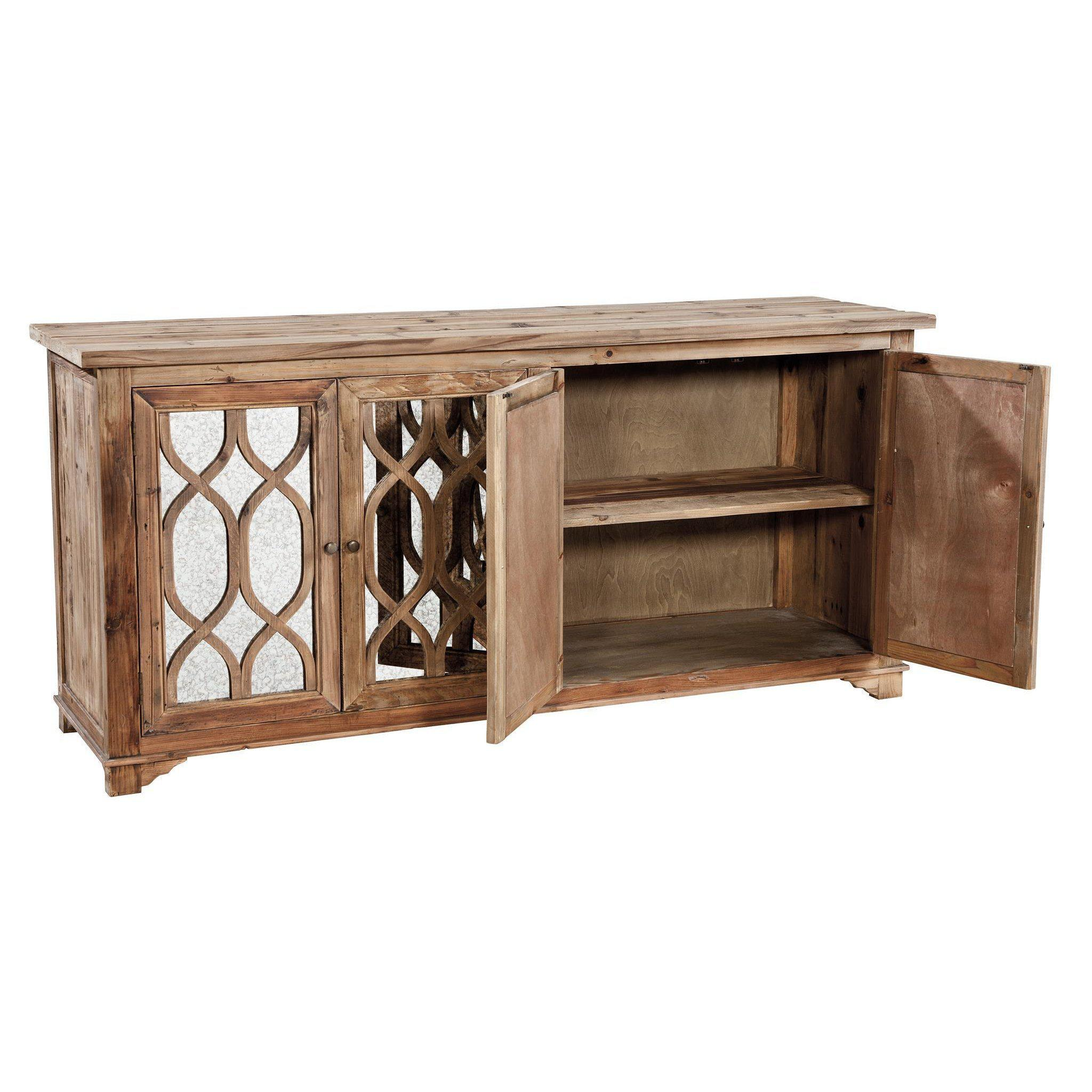 Antiqued Mirror Sideboard