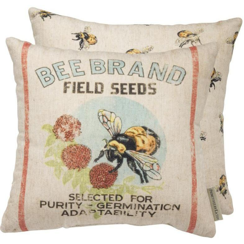 Bee Brand Pillow-Decor-A Cottage in the City