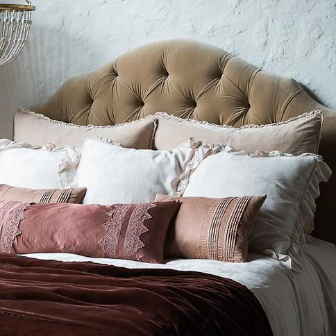 Bella Notte Linens Carmen Sham-Bed & Bath-Euro-Mineral-A Cottage in the City