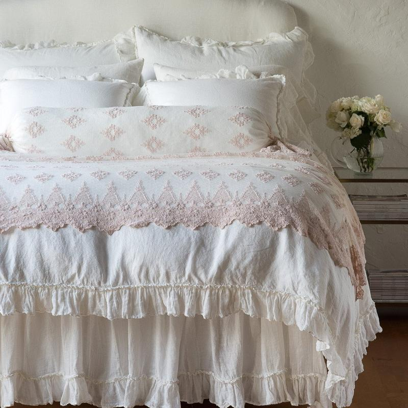 Bella Notte Linens Linen Bolster-Bed & Bath-A Cottage in the City