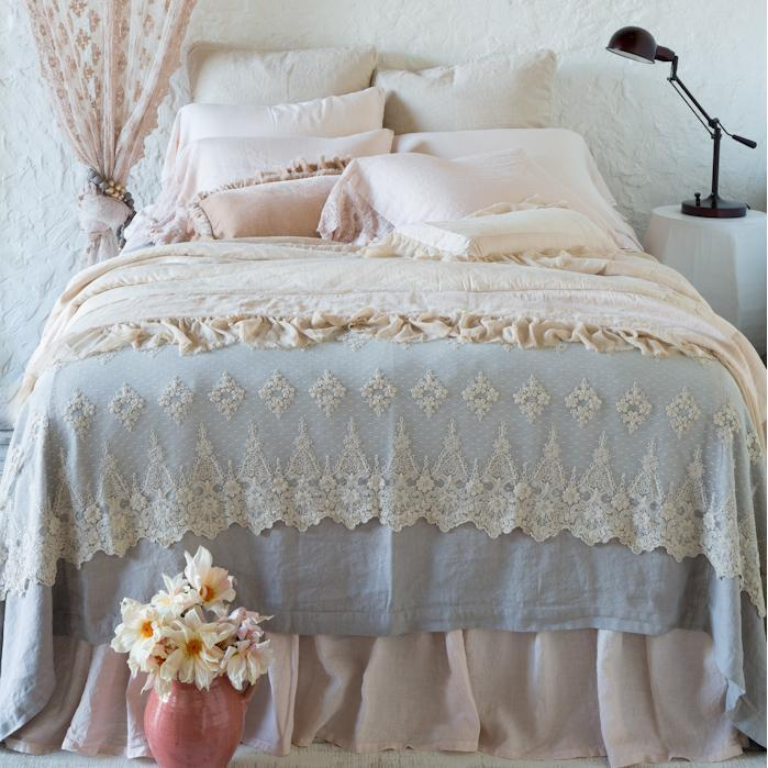 Bella Notte Linens Madera Luxe Sheets-Bed & Bath-Twin Fitted Sheet-Cenote-A Cottage in the City