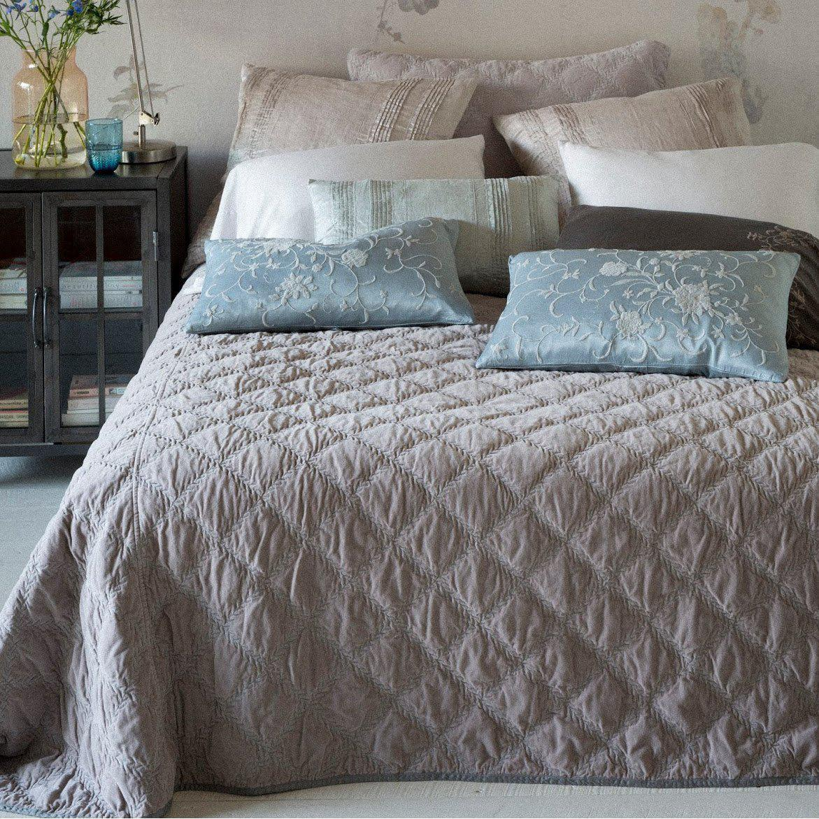 Bella Notte Linens Marseille Coverlet-Bed & Bath-Queen-Parchment-A Cottage in the City