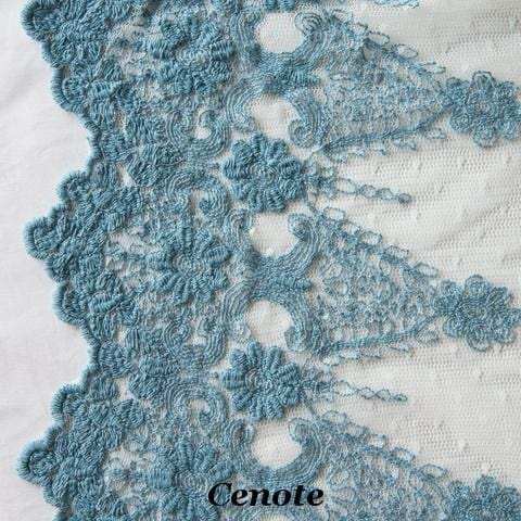 Bella Notte Linens Olivia Lace Throw Blanket