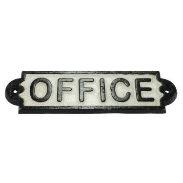 Cast Iron Office Sign-Decor-A Cottage in the City