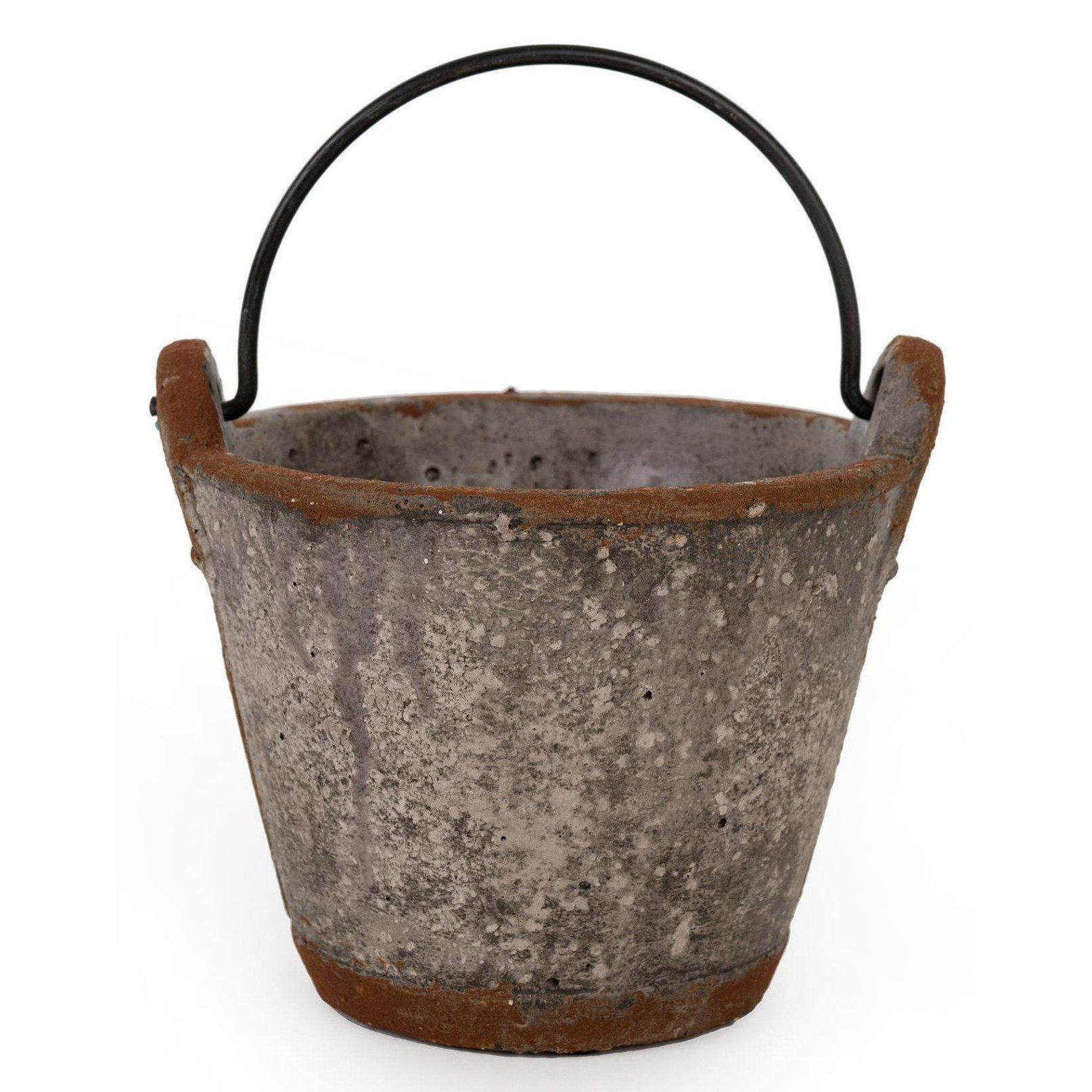 Cement Pail Planter-Seasonal-A Cottage in the City